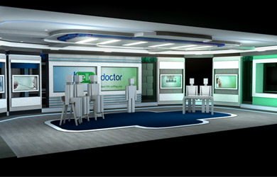 ORAD Virtual Set Design for Hello Doctor