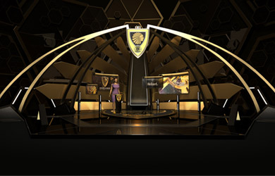 ORAD Virtual Set Design for Kaizer Chiefs